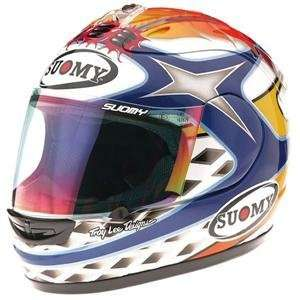 Suomy Excel Helmet   Medium/Chief Blue Automotive
