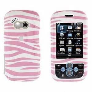 Premium   LG GT365/Neon Pink Zebra Cover   Faceplate