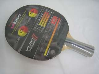 Butterfly Yuki II C 100 Penhold Table Tennis Paddle