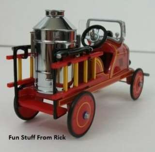 pedal car Fire Engine manufactured by Toledo Metal Wheel Company. It