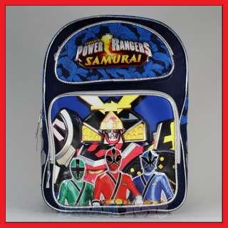 16 Power Rangers Samurai Sentai Backpack Bag Large