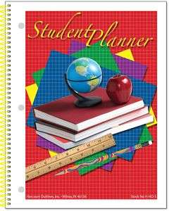 Elementary, Middle School Student Planner Undated Pages