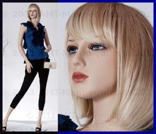 Female mannequin display dressmakers manikin   Jade +1 wig (#8)