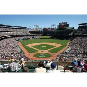 Texas Rangers Ameriquest Field Pre Pasted Wallpaper: Sports & Outdoors