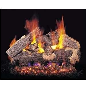 Peterson Gas Logs 30 Inch Rugged Split Oak Vented Propane Gas Log Set