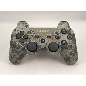 PLAYSTATION 3 Urban Camo Modded Controller (Rapid Fire) COD Black Ops