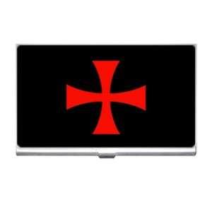 Knights Templar Fraternal Cross Business Card Holder