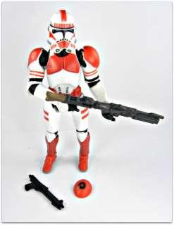 05 Star Wars RotS #6 Clone Trooper w/ Quick Draw Loose