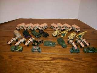 Military Diecasts. Matchbox, Hot Wheels, etc. Tanks, Choppers, Vans