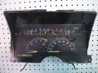 Dash Instrument Cluster Speedometer Gauge Assly Chevy GMC Pickup Truck