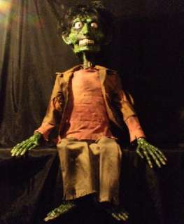 Halloween Ventriloquist Dummy Doll Puppet Skeleton Scary Cool