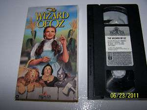 Judy Garland The Wizard of Oz MGM/UA M600001 1995 VHS 027616000132