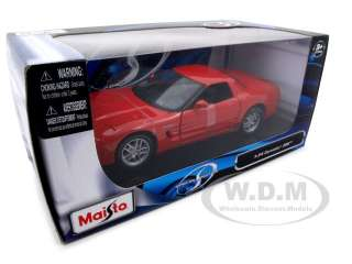 model of Chevrolet Corvette C5 Z06 die cast model car by Maisto