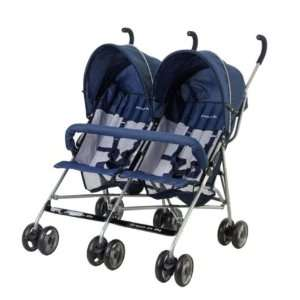 : Dream on Me Side By Side Twin Baby Stroller, Navy: Everything Else