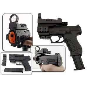 Spring Walther P99 Pistol FPS 125, Red Dot Airsoft Gun